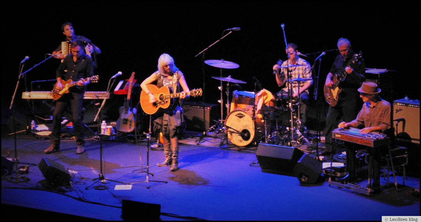 Emmylou Harris at the Gallo Center in Modesto