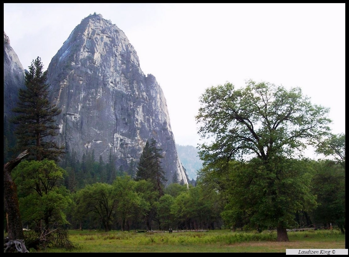Little Cathedral Rock - Yosemite Valley