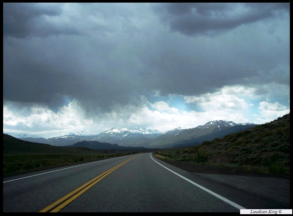 Eastern Sierra Storm - California