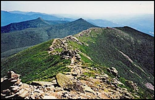 (Franconia Ridge south of Mt Lincoln)